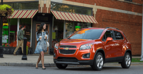 Chevrolet Trax 2015 Mexico fotos 6