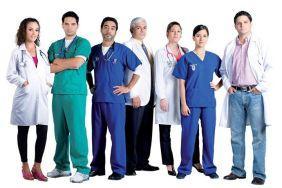 Equipo doctores especialistas