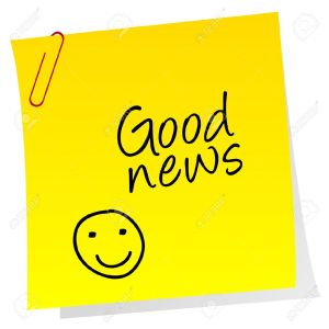 15804818-Sheet-of-paper-with-Good-news-text-Stock-Vector