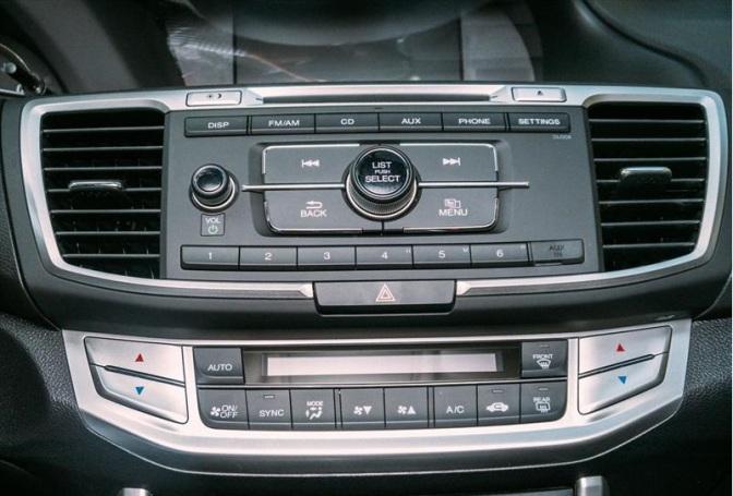 Honda Accord 2015 Fotos audio