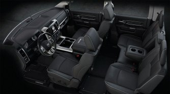 Nueva RAM LIMITED 2016 MEXICO INTERIOR FOTOS